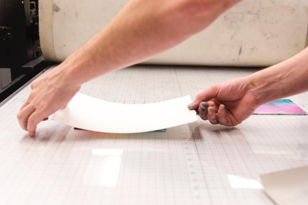 arms preparing print